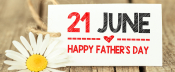 Honouring the fathers.