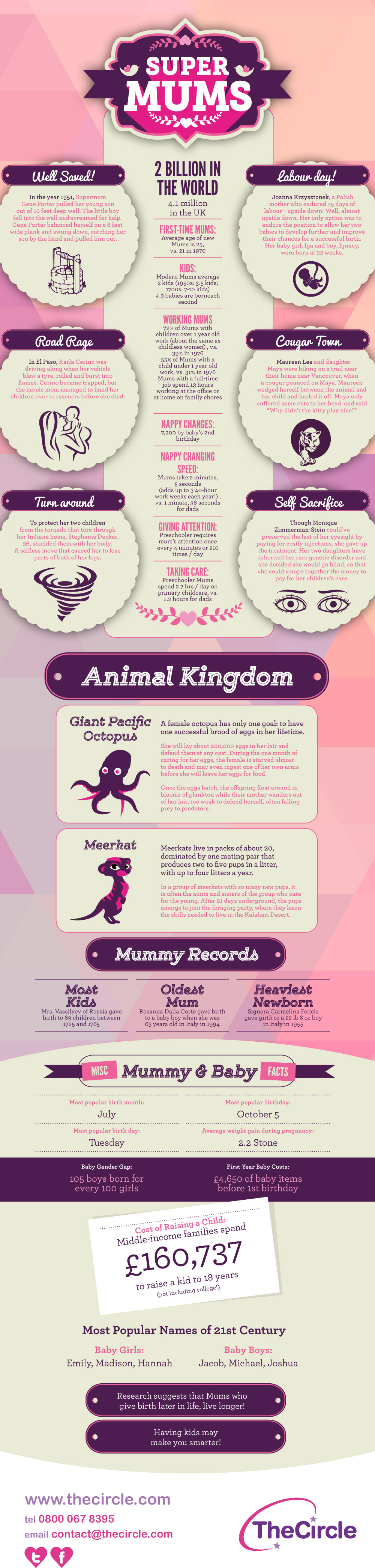 Super Mums - (INFOGRAPHIC)